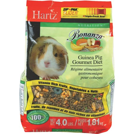 Hartz Guinea Pig Diet Food, 4 lb
