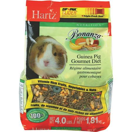 Hartz Guinea Pig Diet Food, 4 lb