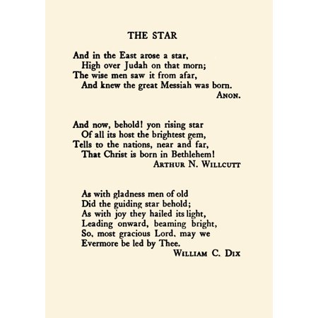 Anon et al Merry Christmas to you my Friend 1907 -The Star et al Canvas Art - Anon et al (24 x