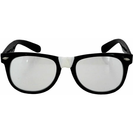 Glasses Nerds Adult Halloween Accessory - A Cute Nerd For Halloween