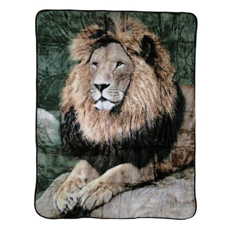 Shavel Home Products Mighty Lion Throw Blanket Walmart Beauteous Lion Blanket Or Throw