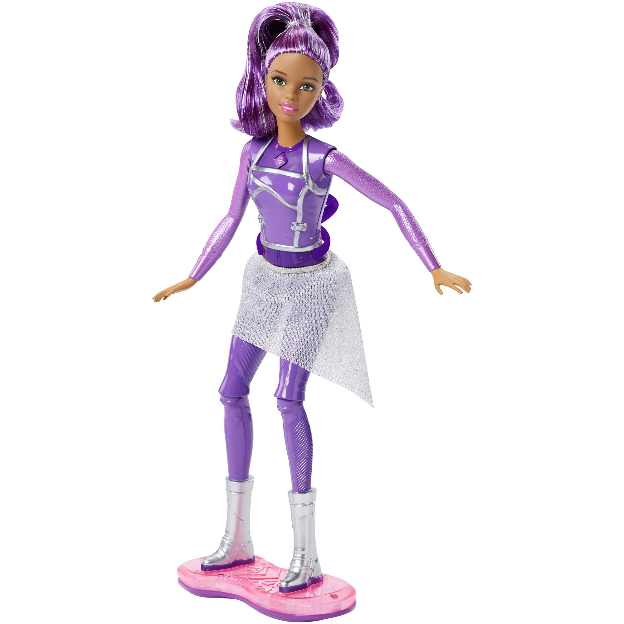 Barbie Star Light Adventure Lights and Sounds Hoverboarder