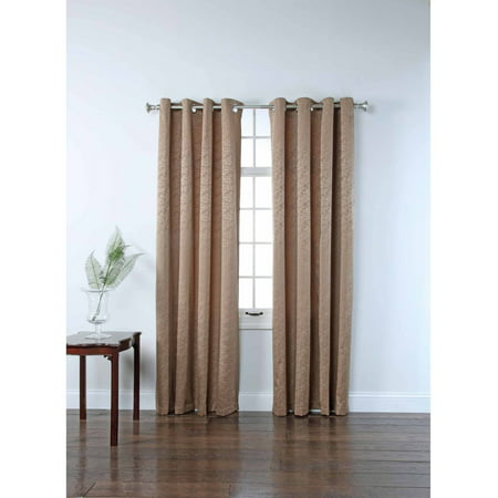 Portland Grommet Energy Efficient Curtain Panel (American Home Taupe Arts)