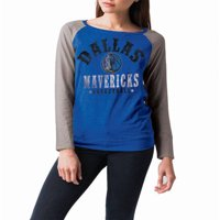 NBA Dallas Mavericks Women's Long Sleeve Raglan Scoop Neck Tee