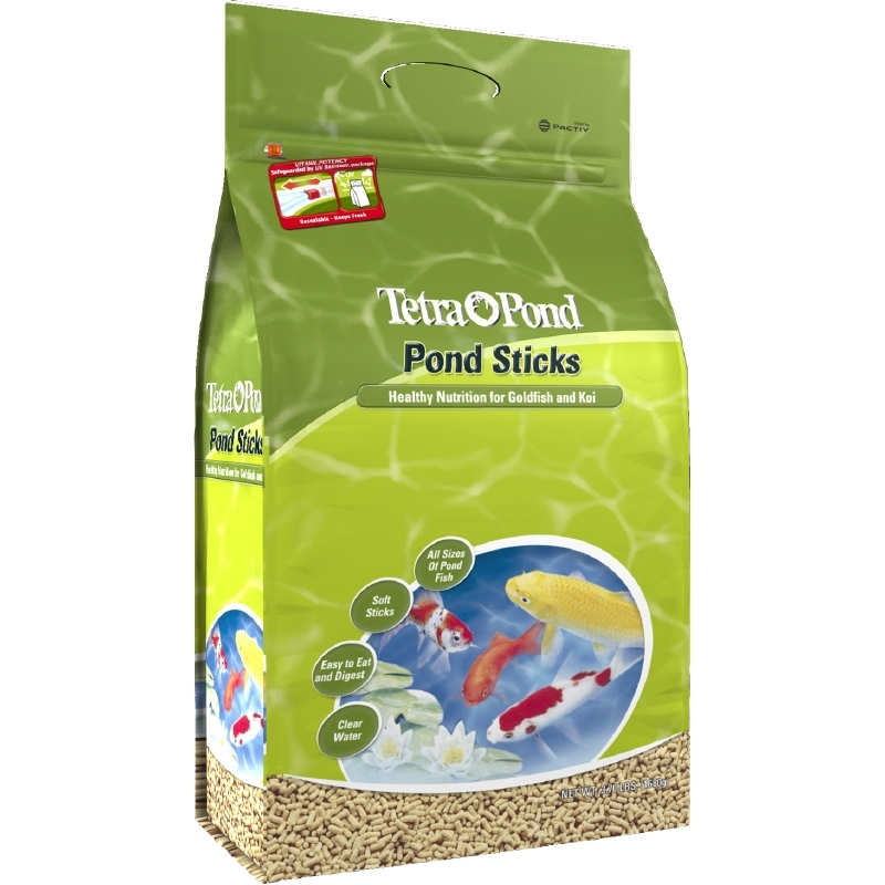 TetraPond Pond Sticks 3.7 Pounds, Pond Fish Food, For Goldfish And Koi