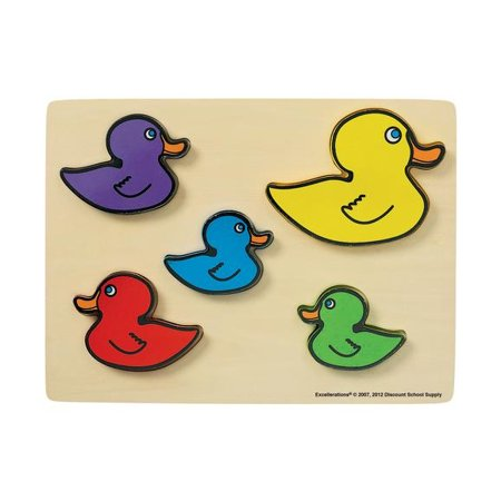 Excellerations Ducks Chunky Puzzle (Item # CPDU)](Discount Puzzles)