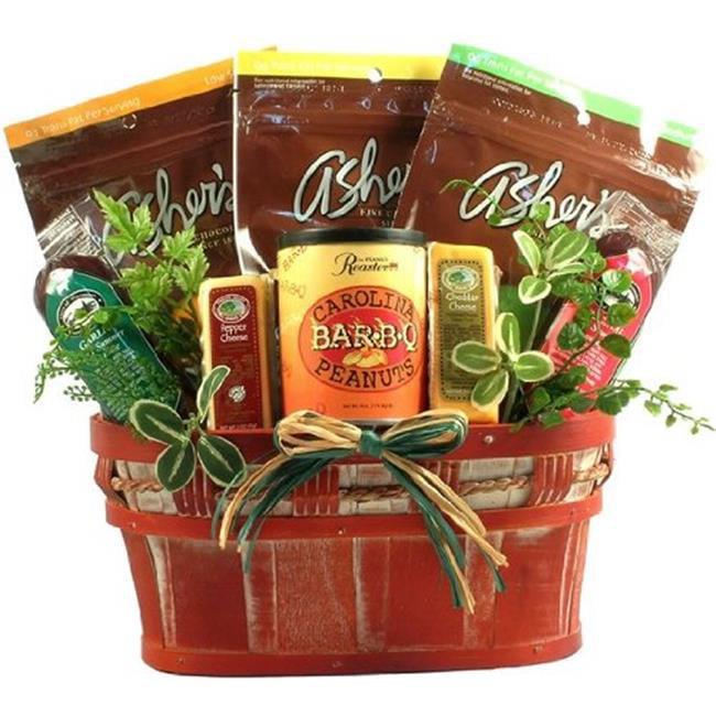 Gift Basket Village HeLi-lg-choc Healthy Living Sugar Free Chocolates Gift Basket, Large
