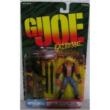 Joe Missile (GI Joe Extreme Metalhead with Heavy Metal Missile Launcher )