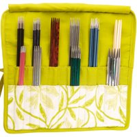 """Knitter's Pride Greenery Double Pointed Needle Case 6-8""""-"""