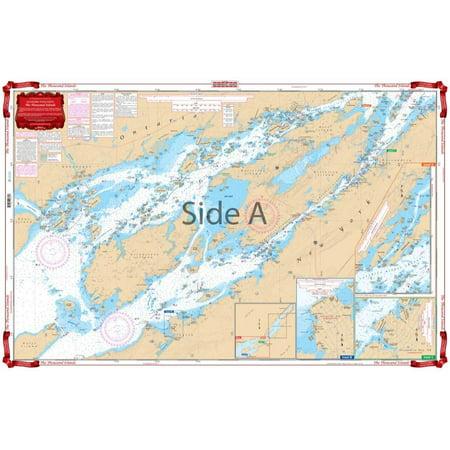 Waterproof Charts, Standard Navigation, 78 The Thousand -