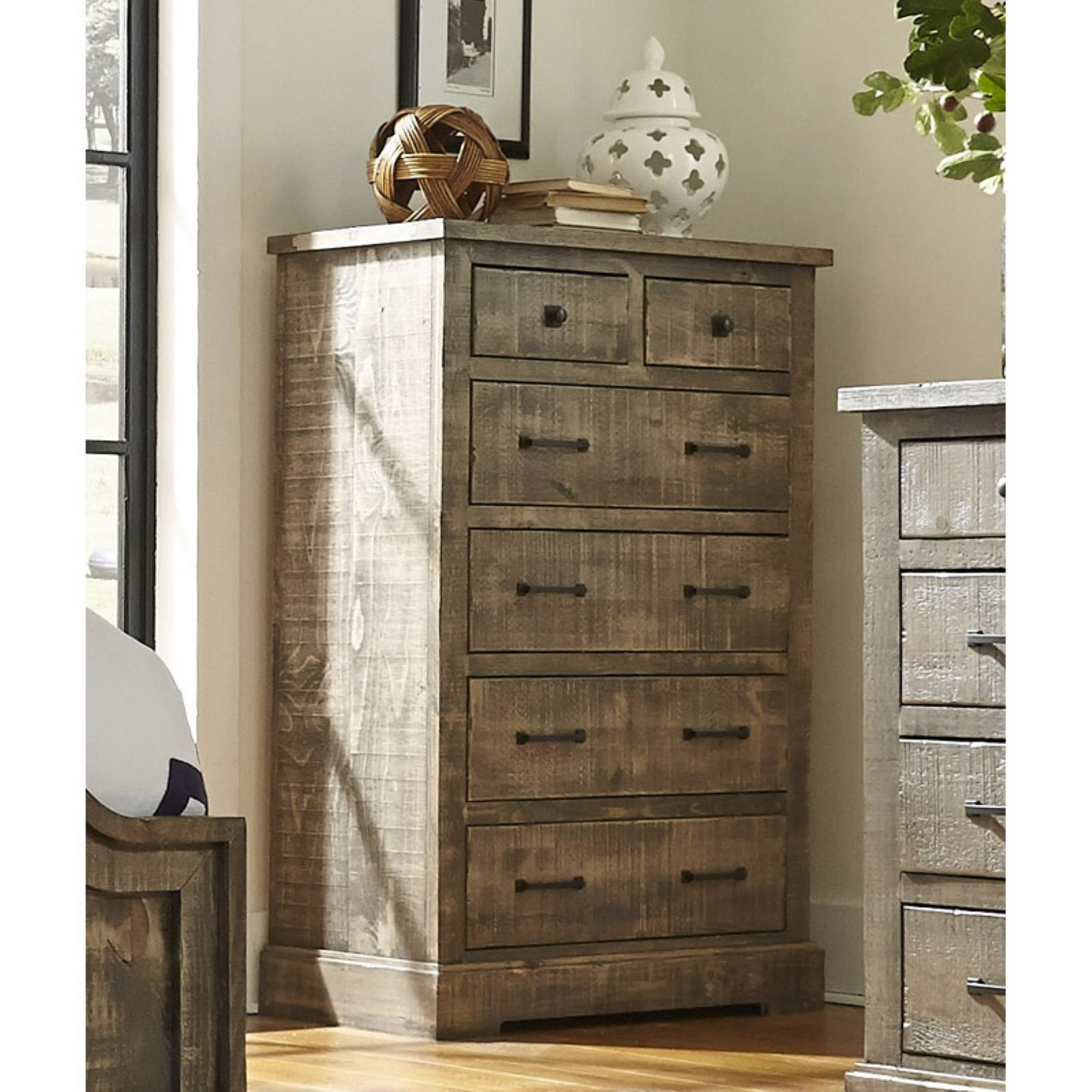 Progressive Furniture Meadow 5 Drawer Chest