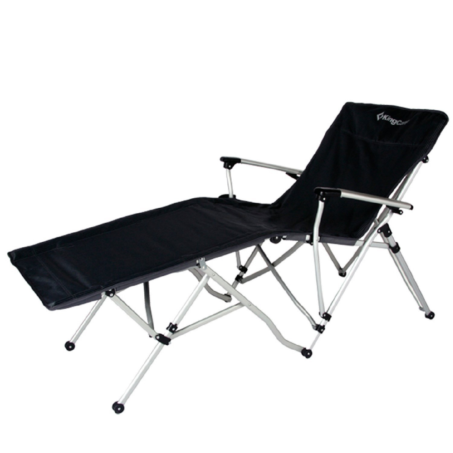 KingCamp Zero Gravity Chair Oversized XL Folding Patio Lounge Chaise Bed  With Cup Holder Optimal