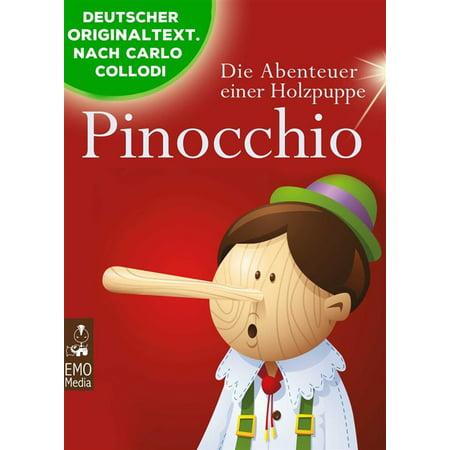 Pinocchio - Die Abenteuer einer Holzpuppe - Der Kinderbuch-Klassiker zum Lesen und Vorlesen (Illustrierte Ausgabe) - eBook (Brille Zum Lesen In Der Masse)