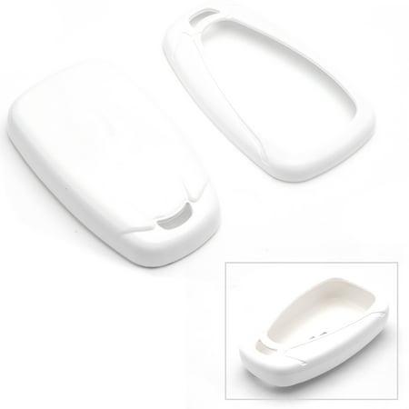 White Glossy Remote Key Fob Shell For Chevy Camaro Malibu Cruze Spark Volt Bolt (2002 Chevy Malibu Remote)