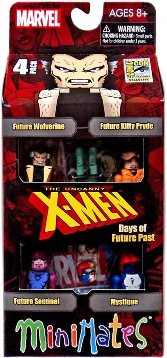 X-Men Minimates Days of Future Past Minifigure 4-Pack by Diamond Select