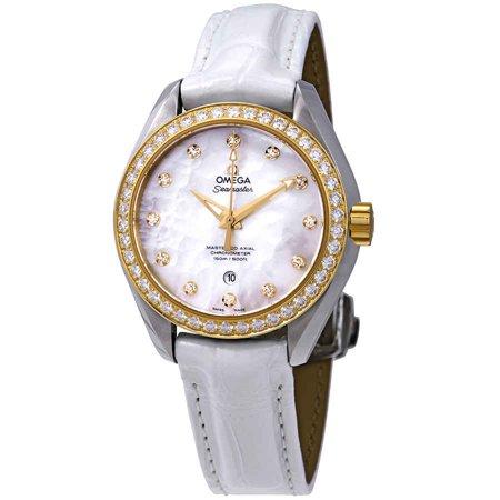 Omega Seamaster Aqua Terra Automatic Diamond Ladies Watch 231.28.34.20.55.004