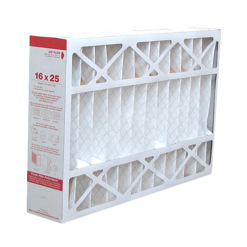 Replacement Pleated Air Filter For Honeywell FC200E1029 Furnace 16x25x4 MERV 11