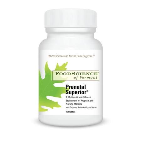 FoodScience of Vermont prénatale supérieure, 150 Ct