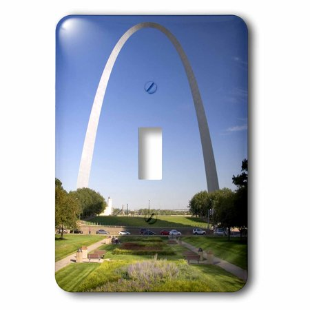 3dRose Gateway Arch, St Louis, Mississippi River, MO - US26 DFR0041 - David R. Frazier, 2 Plug Outlet (St Louis Outlet Mall Stores)