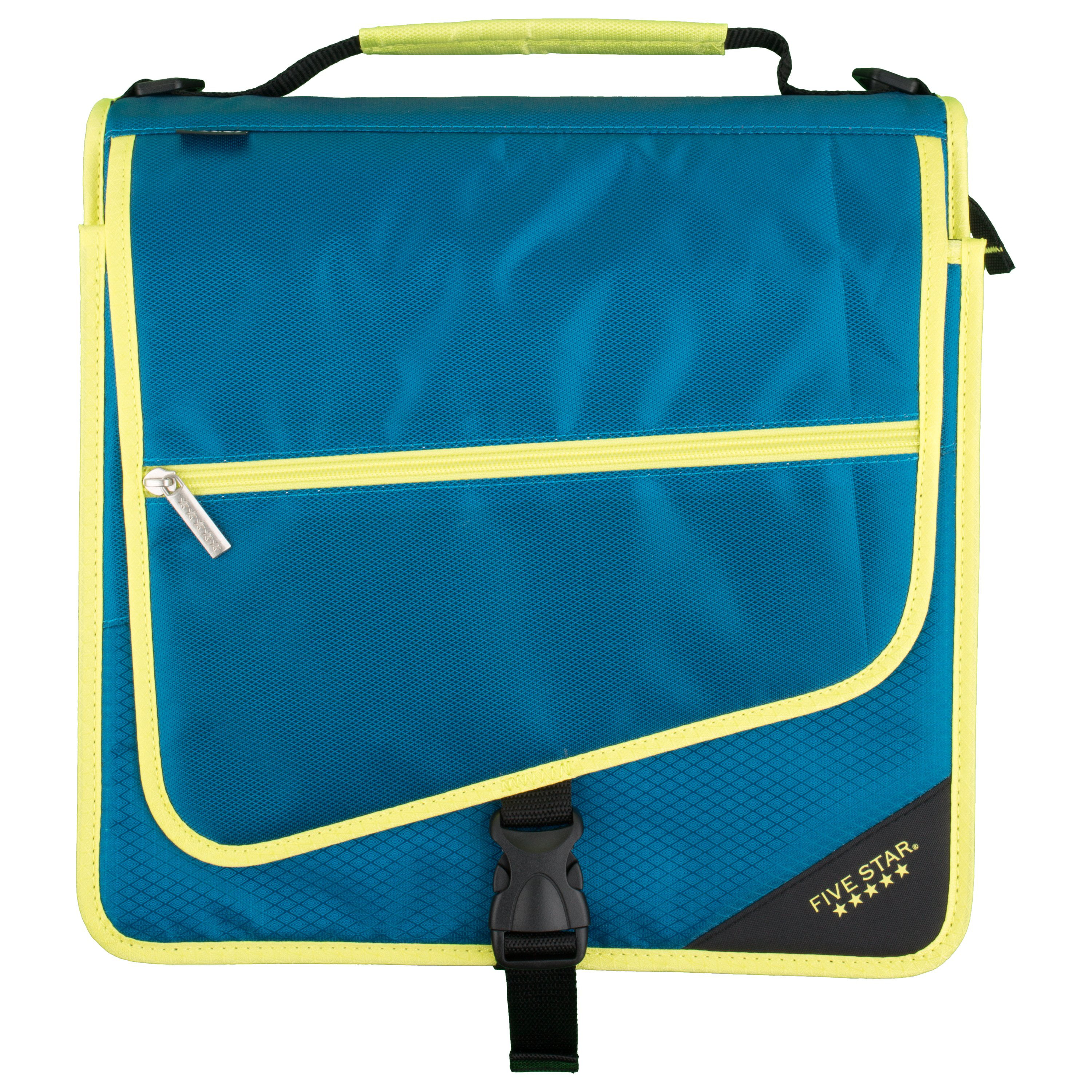 BinderBag Messenger Zippered 3-Ring Binder Bag