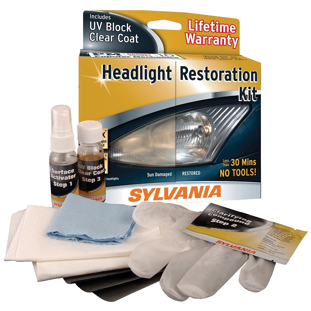 C2 C3 C4 C5 C6 C7 Corvette 1963-2014+ Headlight Restoration Kit