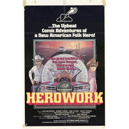 Posterazzi MOVGG1887 Herowork Movie Poster - 27 x 40 in.