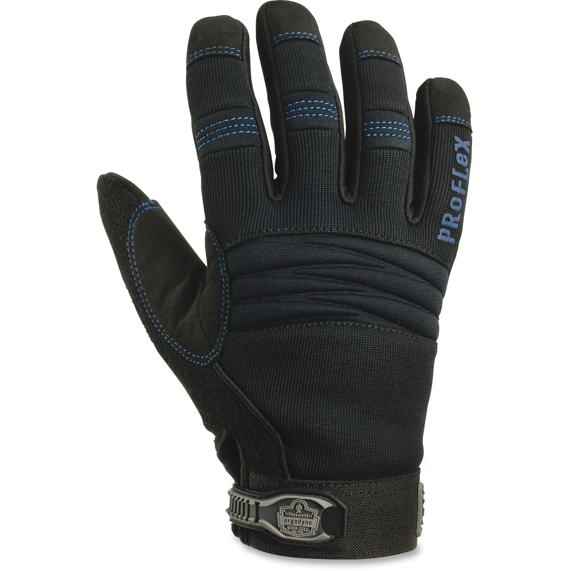 ProFlex Thermal Waterproof Utility Gloves, Black, 2 / Pair (Quantity)