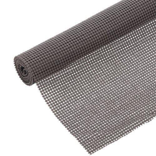 Con-tact Brand Beaded Grip Non-adhesive Shelf Liner, 18 x 60-inch (6 Pack) Graphite (6 Pack)