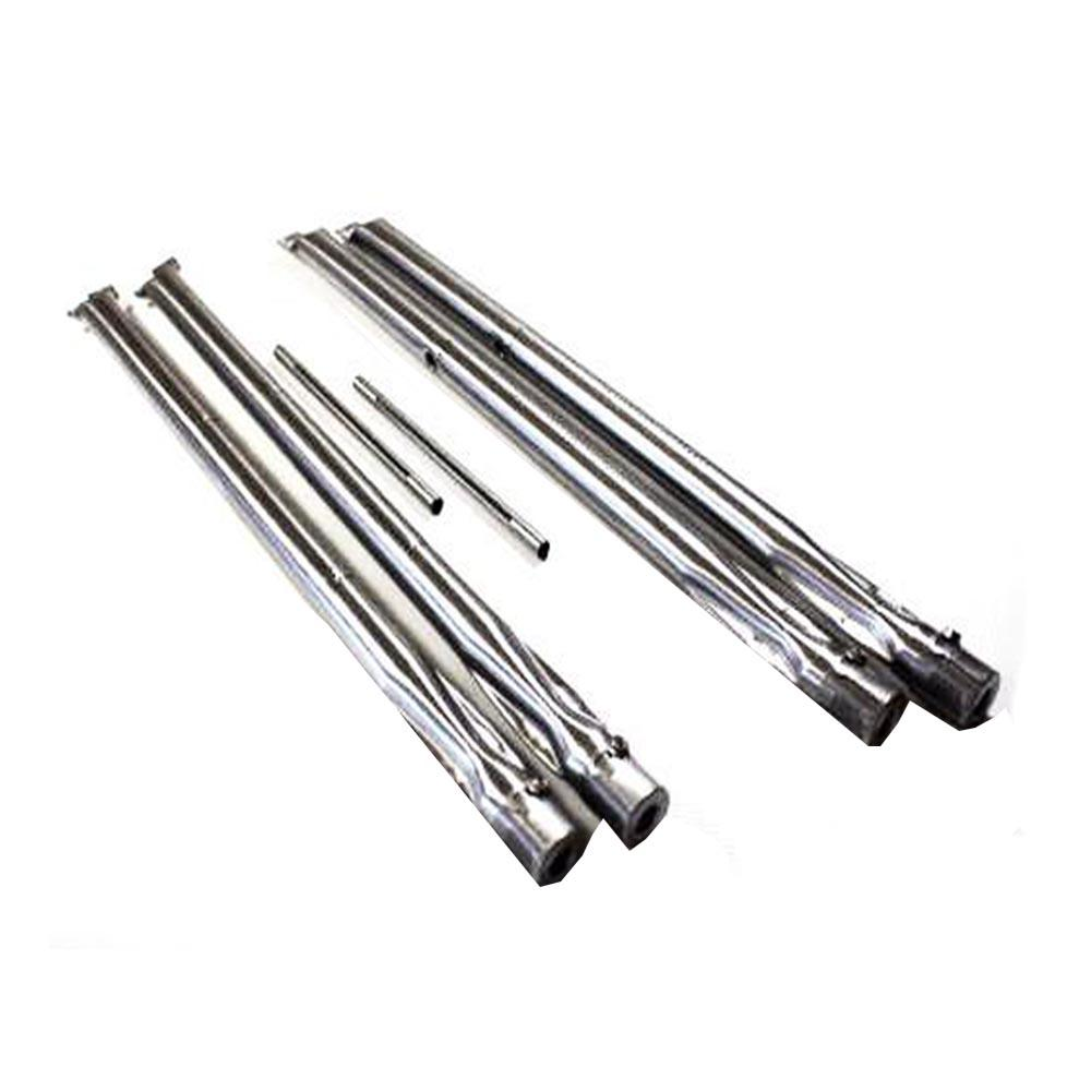 BBQ Grill Weber Grill 4-Pack Stainless Steel Burner Set (Plus 2 Crossover Burner Tubes) BCP85660 OEM by