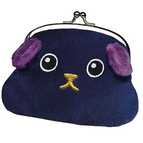 Mameshiba Coin Purse Black Bean