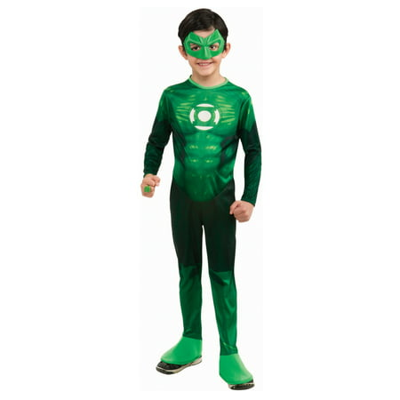 Green Lantern - Hal Jordan Child Costume Child Small 4-6 (3-4 yrs) - Green Lantern Childrens Costume