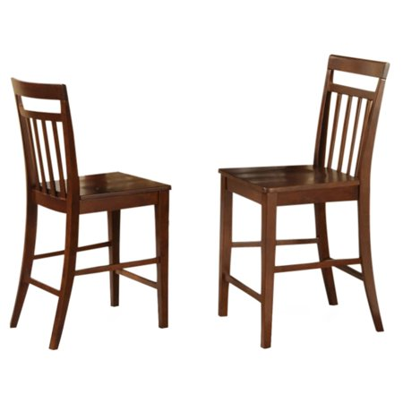 Astounding East West Furniture Counter Height Dining Chair With Wooden Seat Set Of 2 Gmtry Best Dining Table And Chair Ideas Images Gmtryco