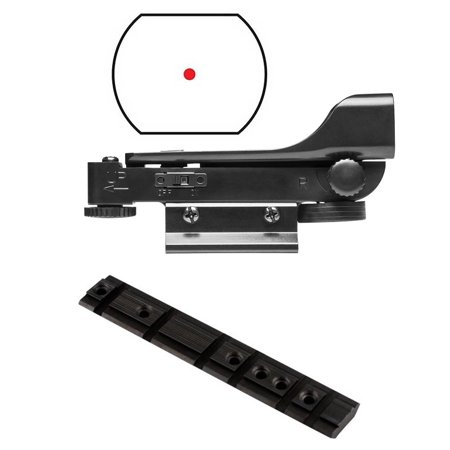 Ultimate Arms Gear Ruger 10 22 10 22 10 22 Rifle Base Top Dual Weaver Picatinny   Dovetail Predrilled Receiver Mount Adapter Rail  Aluminum   Polymer Reticle Red Dot Open Tubeless Reflex Scope Sight