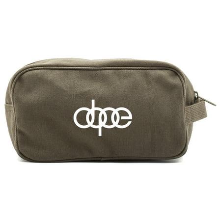 Dope Audi Car Canvas Shower Kit Travel Toiletry Bag