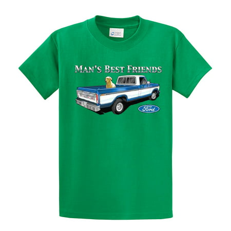 Ford T-Shirt Man's Best Friends (Man's Best Friend Houston Reviews)