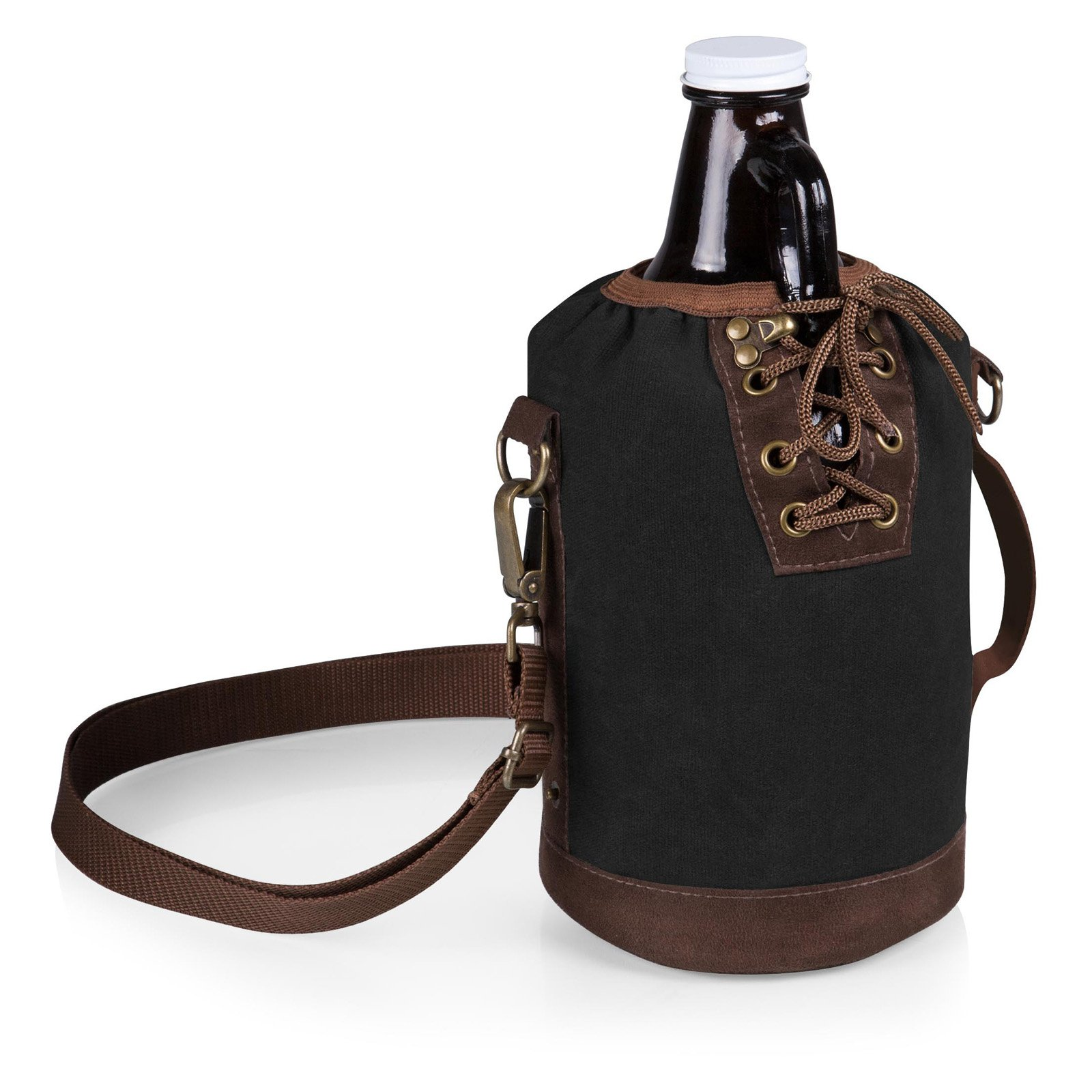 Legacy Insulated Growler Tote with 64 oz. Glass Growler