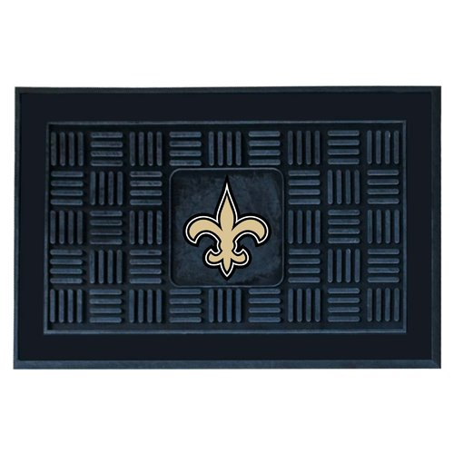 NFL New Orleans Saints Medallion Door Mat