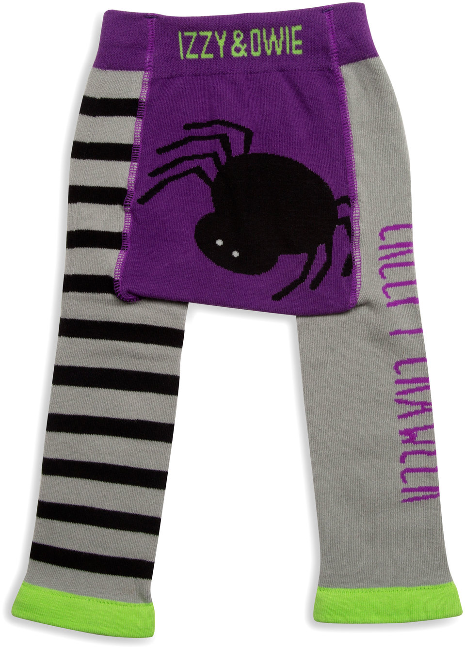 Izzy & Owie - Spider Halloween 6-12 Month Unisex Baby Leggings