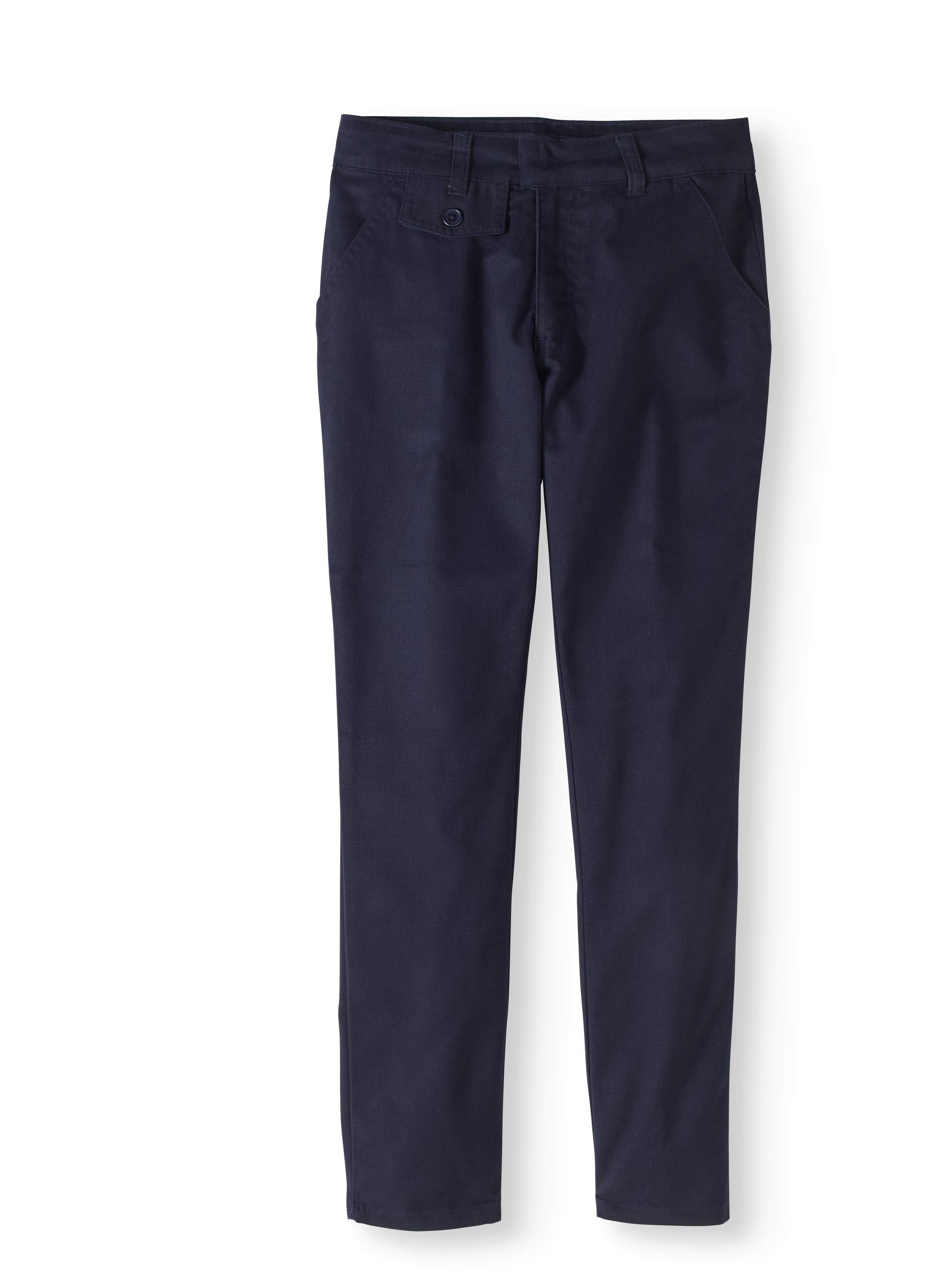 Genuine Uniform Girls' Flat Front Pant