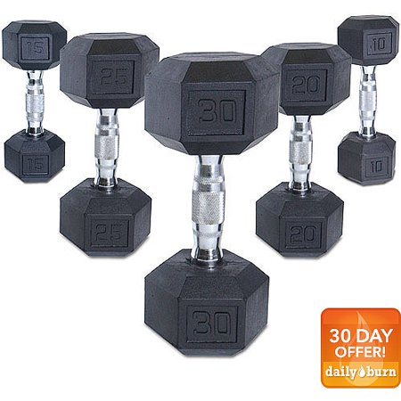 Cap Barbell Coated Hex Dumbbell  Single