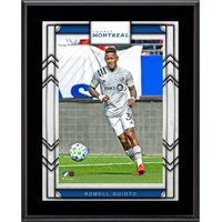 """Romell Quioto Montreal Impact 10.5"""" x 13"""" Sublimated Player Plaque"""