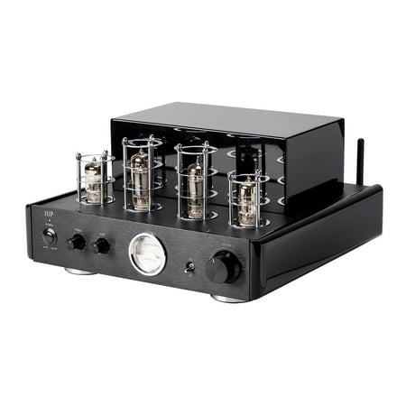 Monoprice Stereo Hybrid Tube Amplifier With Bluetooth & Line Output |  50 (Best Tube Amplifiers)