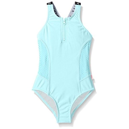 68ed071f7967c Seafolly Big Girls' Summer Essentials Tank, Sky Blue, Sz 14 - Walmart.com