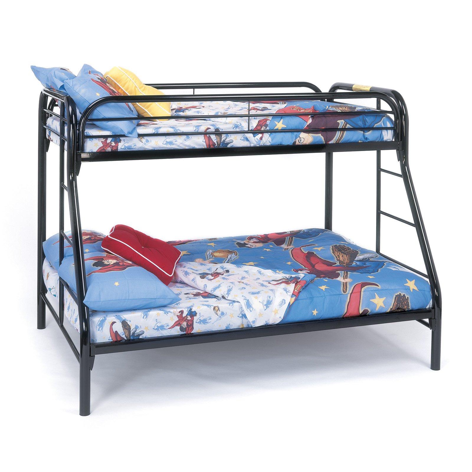Monarch Twin over Full Metal Bunk Bed Walmart