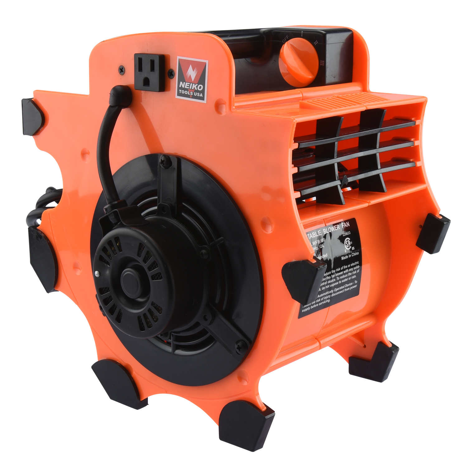 Neiko 20646A 3-Speed Heavy Duty Industrial Air Mover
