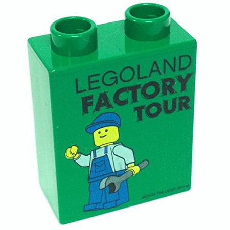 Lego Parts: Lego Promotional/Commemorative Duplo, Brick 1 x 2 x 2