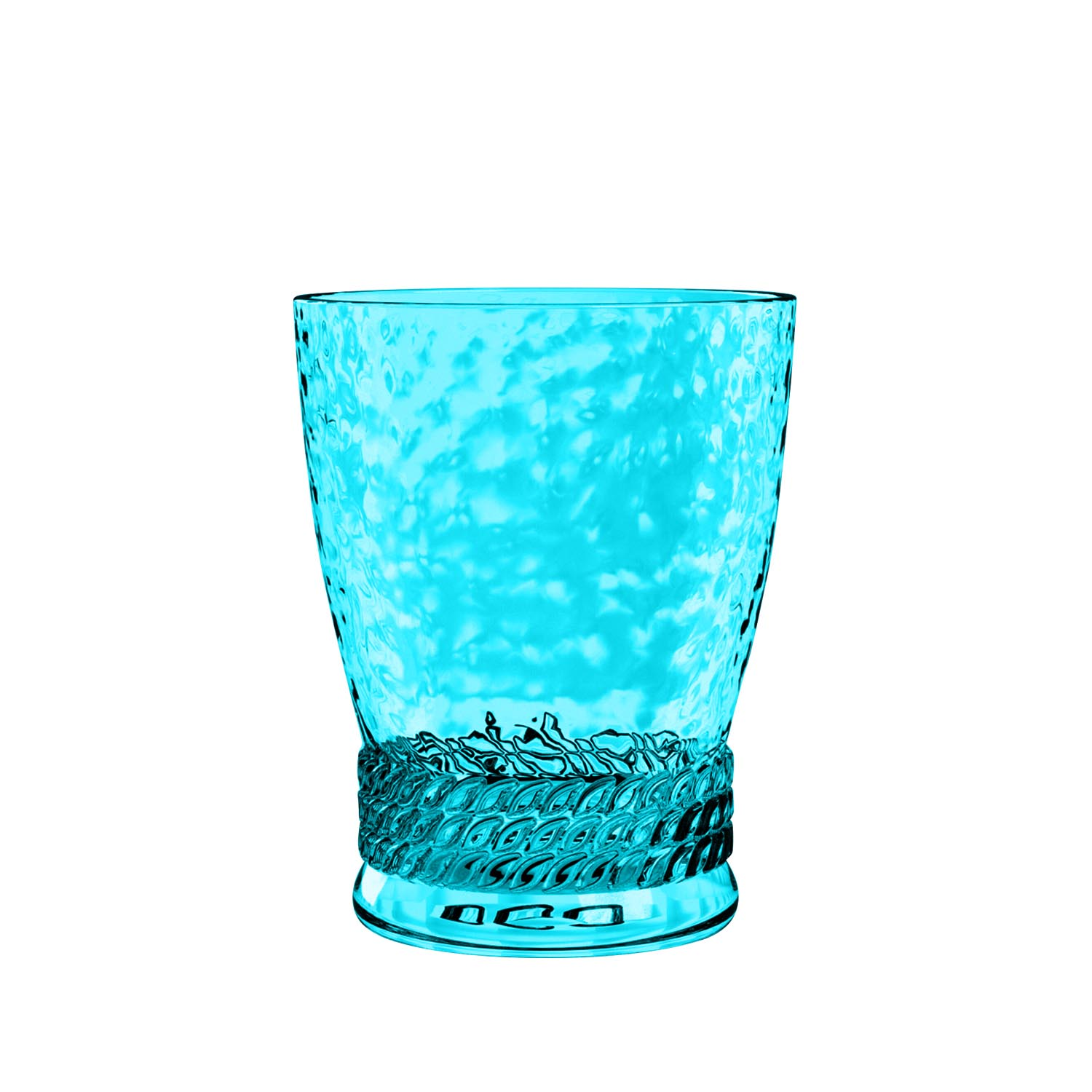 Better Homes & Gardens Plastic 14 Oz Rope Short Tumbler Aqua