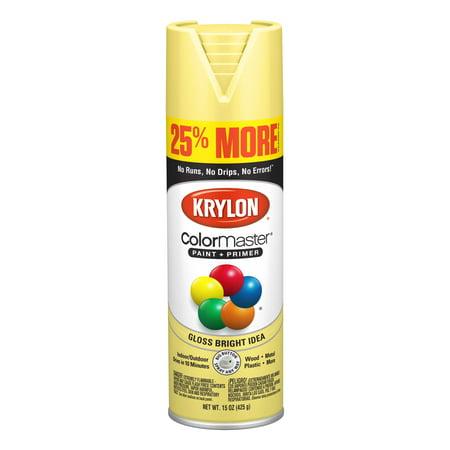 Krylon® ColorMaster Paint + Primer Gloss Bright Idea, 15-Oz](Paint Halloween Ideas)