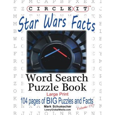 Circle It, Star Wars Facts, Word Search, Puzzle Book