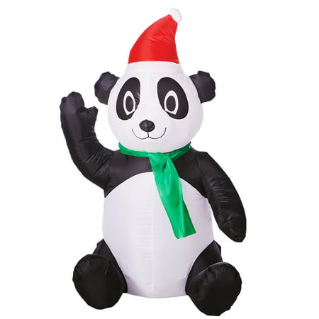 Airblown Inflatable Panda, 3.5' Tall](Minion Christmas Inflatable)